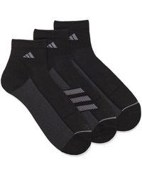 adidas Superlite Running Socks Set Of 3 - Black