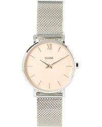 Cluse Minuit Rose Gold Watch - Metallic