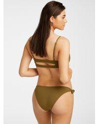 L*Space - Bow Tie Slim Bikini Bottom - Lyst