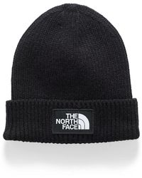 The North Face Classic Logo Cuffed Tuque - Black