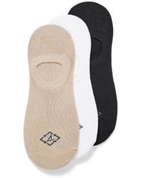 Sperry Top-Sider Recycled Polyester Neutral Ped Socks 3 - White