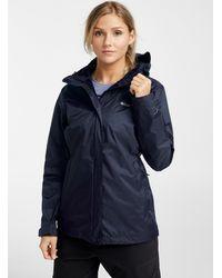 Columbia Arcadia Packable Rain Jacket - Blue