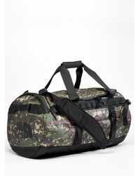 The North Face Base Camp Camo Weekend Bag - Black