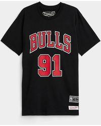 Mitchell & Ness Rodman 91 T - Black