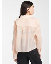 Levi's Pink Sugar Tulle Shirt