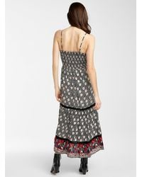 Icône Wildflower Maxi Dress - Black