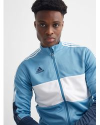adidas Tiro Blue Track Jacket