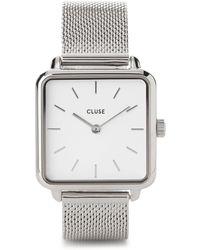Cluse La Garçonne Silver Watch - Metallic