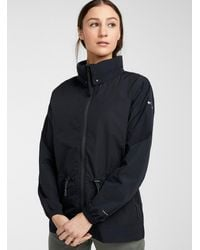 Columbia Wild Willow Summer Windbreaker Adaptable Relaxed Fit - Black