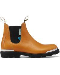 Lanvin Legion Chelsea Boots - Brown