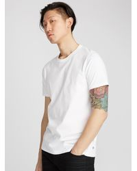 Reigning Champ Monochrome T - White