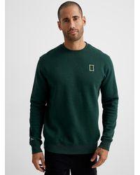 Tentree National Geographic Border Sweatshirt - Green
