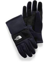 The North Face Sierra Etip Gloves - Blue