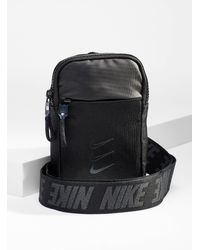 Nike Ombré Logo Shoulder Bag - Black