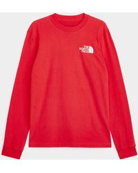 The North Face Box Long - Red