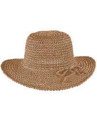 Bula Straw Crochet Hat - Brown