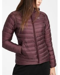 Arc'teryx Cerium Lt Quilted Jacket Fitted Style - Red