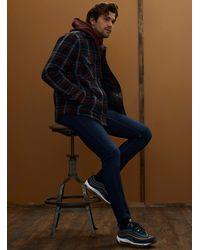 Only & Sons Deep Indigo Loom Knit Jean Slim Fit - Blue