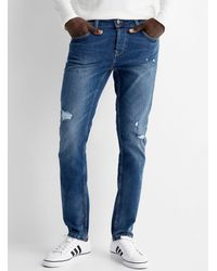 Only & Sons Worn Loom Jean Slim Fit - Blue