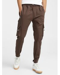 Represent Utility Cargo sweatpants - Brown
