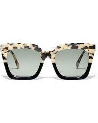 Raen Vine Square Sunglasses - Brown