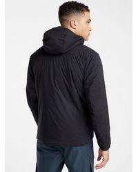 Arc'teryx Atom Lt Hooded Jacket Fitted Style - Black