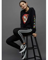adidas Originals Three Stripes legging - Black
