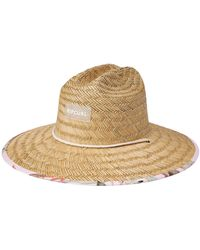 Rip Curl North Shore Straw Hat - Natural