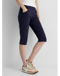 Columbia Anytime Casual Stretch Capris - Blue