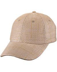 Bula Straw Baseball Cap - Natural