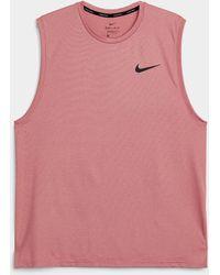 Nike Loose Armhole Tank - Pink
