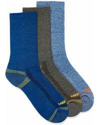 Merrell Recycled Polyester Hiker Socks 3 - Blue