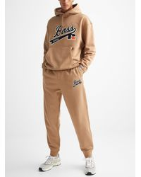 BOSS x Russell Athletic Signature Athletic Sweatpants - Natural