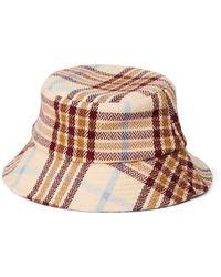 Vero Moda Plaid Bucket Hat - Multicolour