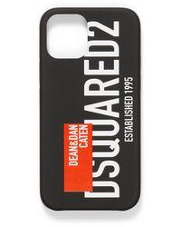 DSquared² Iphone 12 Pro Max Editorial Case - Black