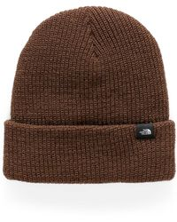 The North Face Logo - Brown