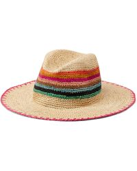 Paul Smith Crochet Straw Hat - Multicolour
