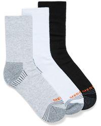 Merrell Recycled Polyester Hiker Socks 3 - Gray