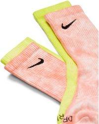 Nike Neon Tie - Yellow