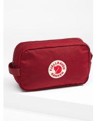 Fjallraven Kanken Travel Case - Red