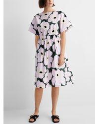 Marimekko Siloinen Pieni Unikko 2 Dress - Multicolor
