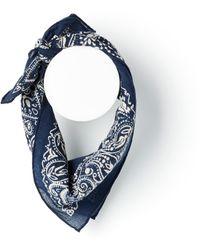 Polo Ralph Lauren Western Bandana Scarf - Blue