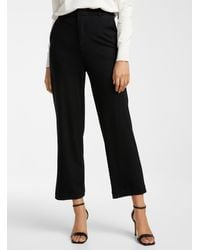 Icône Structured Jersey 3/4 Pant - Black
