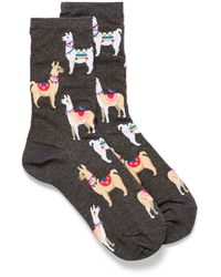 Hot Sox Alpaca Socks - Black