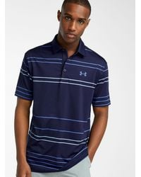 Under Armour Ultra-soft Playoff Polo (men, Blue, Large)