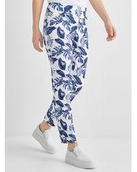 Lisette L Tropical Sky Slimming Pant - Blue