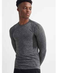 Reigning Champ Invisible Seam Running Tee - Grey
