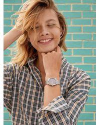 Nixon Medium Time Teller Metallic Watch - Pink