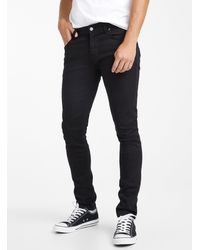 Nudie Jeans Everblack Black Jean Skinny Fit