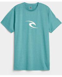 Rip Curl Surf Logo Rashguard T - Blue